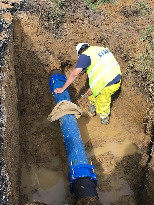 Renouvellement des réseaux d'eau potable